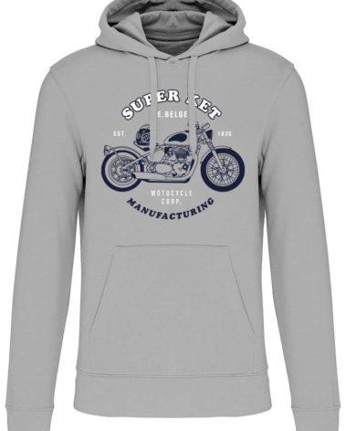 Sweatshirt super ket silver