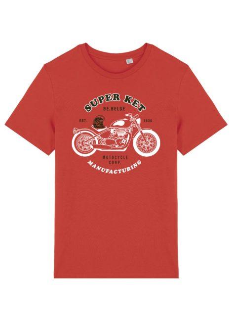 T-shirt Super ket paprika