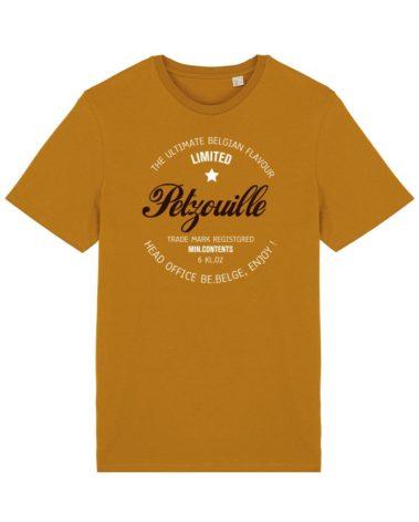 T-shirt Petzouille Curcuma