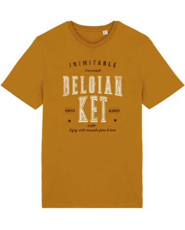 T-shirt curcuma belgian ket