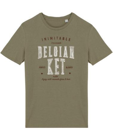 T-shirt Olive Belgian Ket
