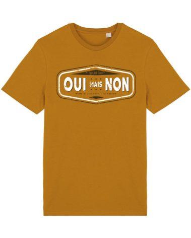T-shirt oui mais non curcuma