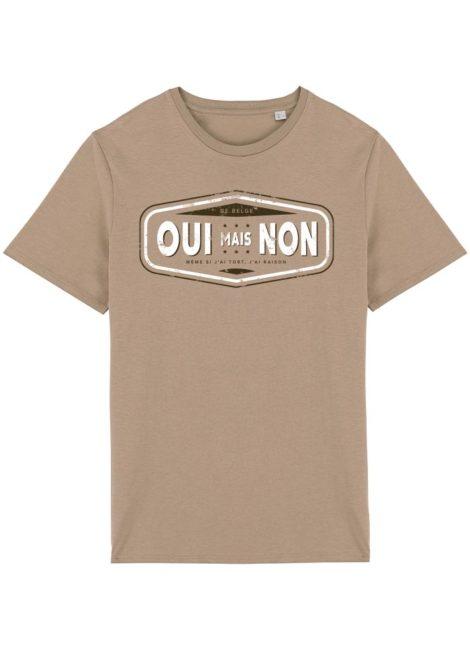 T-shirt sable oui mais non