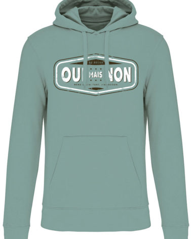 Sweatshirt capuche jade oui mais non