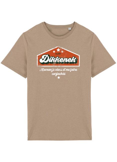 T-shirt Dikkenek Sable