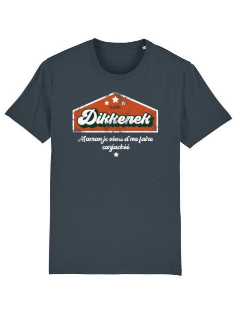T-shirt Dikkenek Gris indien
