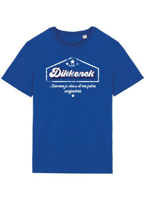 T-shirt Dikkenek Mer bleu