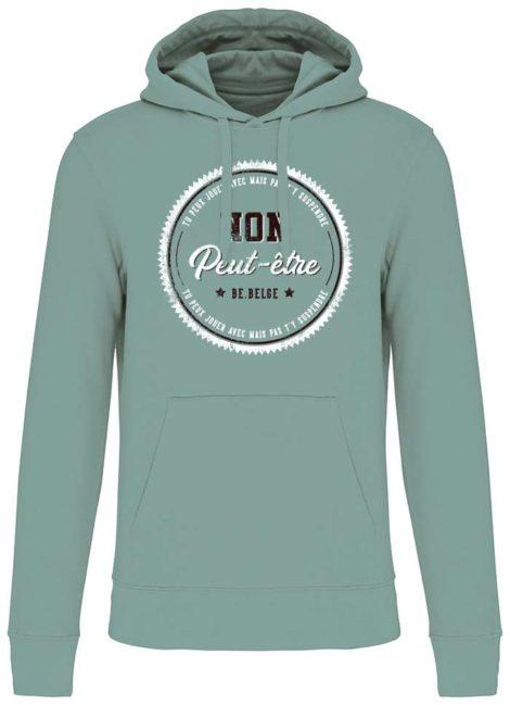 Sweatshirt non peut-etre jade